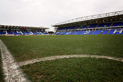 A general view of The Abax Stadium before the EFL Sky Bet League 1 match between Peterborough United and Rochdale at London Road, Peterborough, England on 12 January 2019.