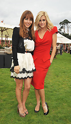 Left to right, Elsa Pataky and ASHLEY ROBERTS at the 25th annual Cartier International Polo held at Guards Polo Club, Great Windsor Park, Berkshire on 26th July 2009.