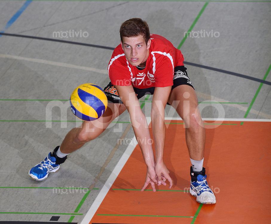 Volleyball 1. Bundesliga  Saison  2012/2013  05.09.2012 TV Rottenburg  - SV Fellbach Sven Metzger (TV Rottenburg)