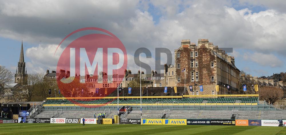 General view of the Recreation Ground, Bath.  - Mandatory by-line: Alex Davidson/JMP - 23/04/2016 - RUGBY - Recreation Ground - Bath, England - Bath Rugby v Sale Sharks - Aviva Premiership