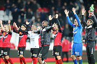 Joie Guingamp - 03.12.2014 - Guingamp / Caen - 16eme journee de Ligue 1 <br />