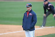 Ole MIss assistant coach kirk McConnell at Oxford-University Stadium in Oxford, Miss. on Sunday, March 6, 2010. Tulane won 3-1.