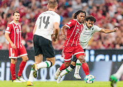 01.08.2017, Allianz Arena, Muenchen, GER, Audi Cup, FC Bayern Muenchen vs FC Liverpool, im Bild Renato Sanches (FC Bayern Muenchen), Mohamed Salah (FC Liverpool) // during the Audi Cup Match between FC Bayern Munich and FC Liverpool at the Allianz Arena, Munich, Germany on 2017/08/01. EXPA Pictures © 2017, PhotoCredit: EXPA/ JFK