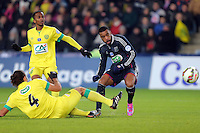 Goal Alexandre LACAZETTE  - 20.01.2015 - Nantes / Lyon  - Coupe de France 2014/2015<br />