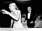 Gwyneth Paltrow and her father Buster. Vanity Fair Oscar night party. Mortons. Los Angeles. 28 March 1999. Film 9999188f19a<br /> © Copyright Photograph by Dafydd Jones 66 Stockwell Park Rd. London SW9 0DA<br /> Tel 0171 733 0108<br /> www.dafjones.com