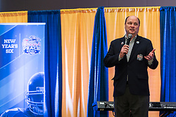General images during Michigan and Florida team arrivals at the 2018 Chick-fil-A Peach Bowl on Sunday, December 23, 2018. (Paul Abell via Abell Images for the Chick-fil-A Peach Bowl)