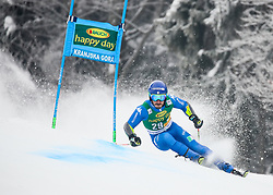 Giovanni Borsotti of Italy during 1st run of Men's GiantSlalom race of FIS Alpine Ski World Cup 57th Vitranc Cup 2018, on March 3, 2018 in Kranjska Gora, Slovenia. Photo by Ziga Zupan / Sportida