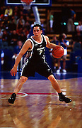 Paul Henare during the Men's basketball match between the New Zealand Tall Blacks and France at the Olympics in Sydney, Australia on 17 September, 2000. Photo: PHOTOSPORT<br /><br /><br /><br /><br />170900 *** Local Caption ***