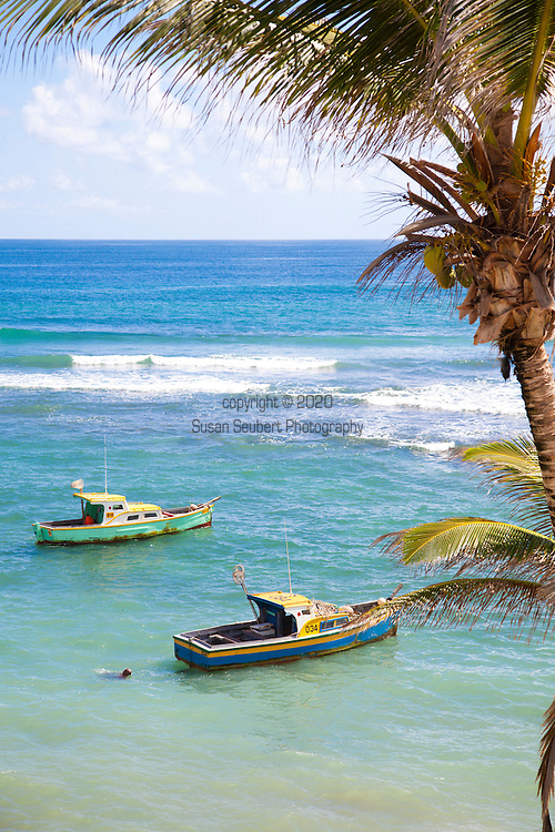 Bathsheba is the main fishing village in the parish of Saint Joseph with some 5,000 inhabitants on the east coastline of Barbados. The town has a number of quaint churches.  Bathsheba beach is known as the Soup Bowl where local and international surfing  competitions take place annually. Another notable feature of Bathsheba beach is the large boulder that sits slightly offshore, known by some as Bathsheba Rock.