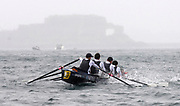 St Peter's Port, Guernsey, CHANNEL ISLANDS,  NOVA  Group, Guernsey RC winner's both days of the Men's Senior Fours, at the 2006 FISA Coastal Rowing  Challenge,  03/09/2006.  Photo  Peter Spurrier, © Intersport Images,  Tel +44 [0] 7973 819 551,  email images@intersport-images.com