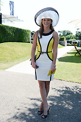 IZZY DICKSON at the 3rd day of the 2013 Glorious Goodwood racing festival - Ladies day at Goodwood Racecourse, West Sussex on 1st August 2013.