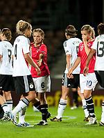 Camilla Huse after loss. Germany - Norway. WEURO 2009. Helsinki, Finland 7.9.2009. Photo: Jussi Eskola
