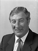 Portrait of Mr. Gerard Harvey chief execute of Bord Post, G.P.O., <br /> 1st June 1984