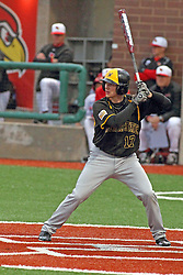 25 May 2013:  Tyler Baker during an NCAA division 1 Missouri Valley Conference (MVC) Baseball Tournament game between the Wichita State Shockers and the Illinois State Redbirds on Duffy Bass Field, Normal IL