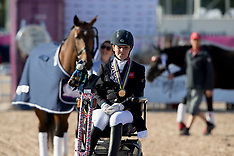 Freestyle Grade III Para Dressage - Gothenburg 2017