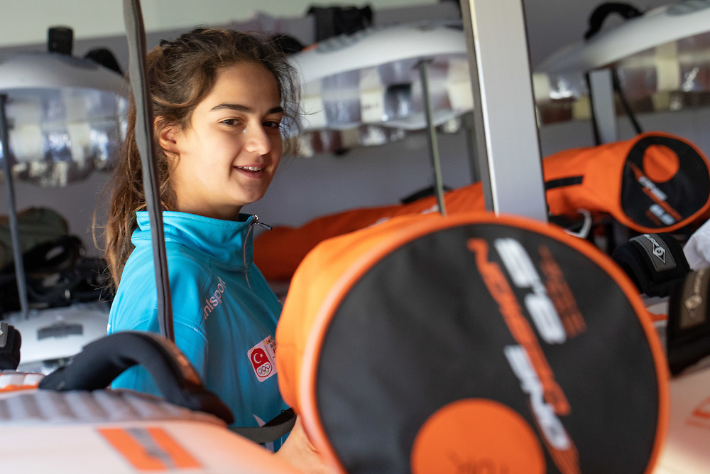 2018 Buenos Aires Youth Olympic Games. <br /> <br /> Five sailing events with 100 sailors from 44 different nations are taking place at Club N&aacute;utico San Isidro, Argentine including Girl's and Boy's Kiteboarding (Twin Tip Racing) and the Mixed Multihull (Nacra 15). Elsewhere, Girl's and Boy's Windsurfing (Techno 293+) are returning for its third consecutive Games from 6 to 18 October 2018. &copy; Matias Capizzano / World Sailing