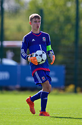 NEWPORT, WALES - Wednesday, July 25, 2018: Goalkeeper Tyler Evans during the Welsh Football Trust Cymru Cup 2018 at Dragon Park. (Pic by Paul Greenwood/Propaganda)
