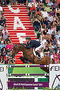 Patrice Delaveau - Orient Express HDC<br /> Alltech FEI World Equestrian Games™ 2014 - Normandy, France.<br /> © DigiShots