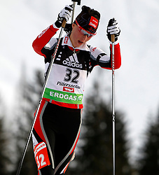 16.12.2011, Biathlonzentrum, Hochfilzen, AUT, E.ON IBU Weltcup, 3. Biathlon, Hochfilzen, Sprint Frauen, im Bild Romana Schrempf (AUT) // during Sprint women E.ON IBU World Cup 3th Biathlon, Hochfilzen, Austria on 2011/12/16. EXPA Pictures © 2011, PhotoCredit: EXPA/ Oskar Hoeher