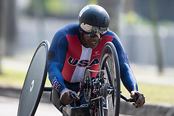 de los SANTOS Alfredo, USA, H5, Cycling, Time-Trial at Rio 2016 Paralympic Games, Brazil