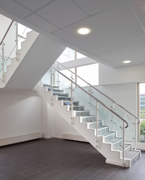 staircase in office