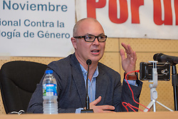 November 19, 2018 - Alcobendas, Madrid, Spain - Jesús Muñoz during Alcobendas' first meeting in favor of the children rights celebrated in Alcobendas, Madrid, Spain. November 17th 2018. (Credit Image: © Juan Carlos Garcia Mate/Pacific Press via ZUMA Wire)