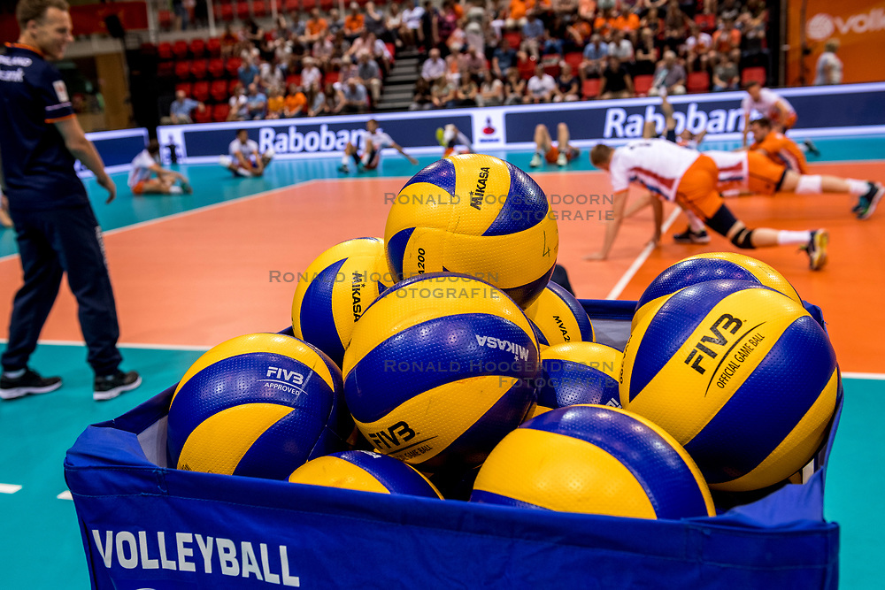 20-05-2018 NED: Netherlands - Slovenia, Doetinchem<br /> First match Golden European League / Mikasa balls