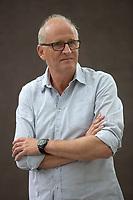 A portrait of Herman Koch at the Edinburgh International Book Festival 2012 in Charlotte Square Gardens<br /> <br /> Pic by Pako Mera