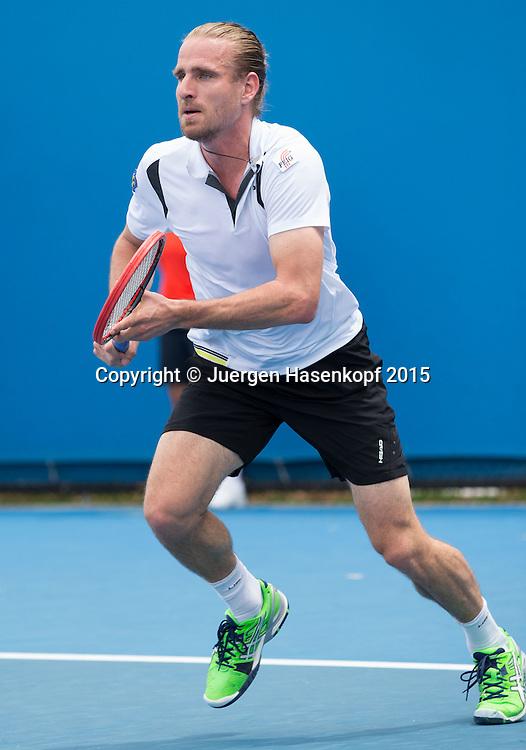 Peter Gojowczyk (GER)<br /> <br />  - Australian Open 2015 -  -  Melbourne Park Tennis Centre - Melbourne - Victoria - Australia  - 20 January 2015. <br /> &copy; Juergen Hasenkopf