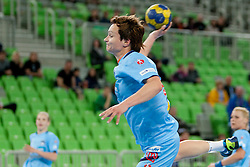Katja Cerenjak of Slovenia during handball match between Women National Teams of Slovenia and Czech Republic of 4th Round of EURO 2012 Qualifications, on March 25, 2012, in Arena Stozice, Ljubljana, Slovenia. (Photo by Urban Urbanc / Sportida.com)