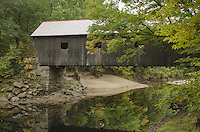 Lovejoy Covered Bridge, Maine