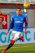 Rangers Captain James Tavernier during the Ladbrokes Scottish Premiership match between Hamilton Academical FC and Rangers at The Hope CBD Stadium, Hamilton, Scotland on 24 February 2019.