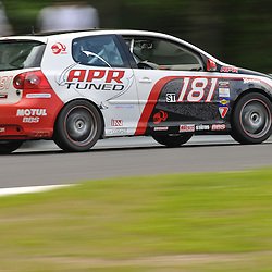 May 23, 2009; Lakeville, CT, USA; The APR Motorsport Volkswagen GTi of Mike Sweeney and Dion von Moltke races in the Grand-Am Koni Sports Car Challenge series competition during the Memorial Day Road Racing Classic weekend at Lime Rock Park.