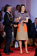 050718 Queen Letizia attends the awards ceremony of the 10th 'Social Projects of Banco Santander'