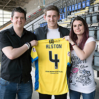St Johnstone Players Sponsors Night, Season 2016-17….18.05.17 <br />Blair Alston<br />Picture by Graeme Hart.<br />Copyright Perthshire Picture Agency<br />Tel: 01738 623350  Mobile: 07990 594431