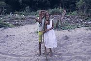 Chuao - Bambini nel villaggio