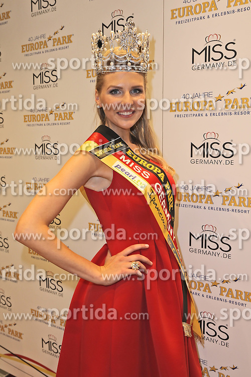 28.02.2015, Europapark Dom, Rust, GER, Miss Germany Wahl 2015, im Bild Miss Germany 2015 Olga Hofmann (Miss Pearl.tv 2015) // during the election to Miss Germany 2015 at the Europapark Dom in Rust, Germany on 2015/02/28. EXPA Pictures &copy; 2015, PhotoCredit: EXPA/ Eibner-Pressefoto/ BW-Foto<br /> <br /> *****ATTENTION - OUT of GER*****