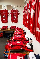 General View inside the Bristol City dressing room - Rogan/JMP - 23/12/2017 - Loftus Road - London, England - Queens Park Rangers v Bristol City - Sky Bet Championship.