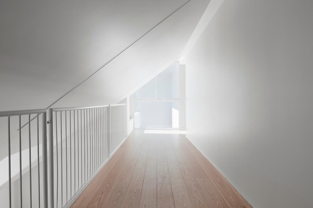 Loft apartment in Helsinki, Finland designed by ALA architects.
