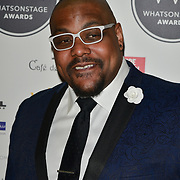 Trevor Dion Nicholas Arriver at the 18th Annual WhatsOnStage Awards 2018 at Prince of Wales Theatre on 25 Feb 2018, London, UK