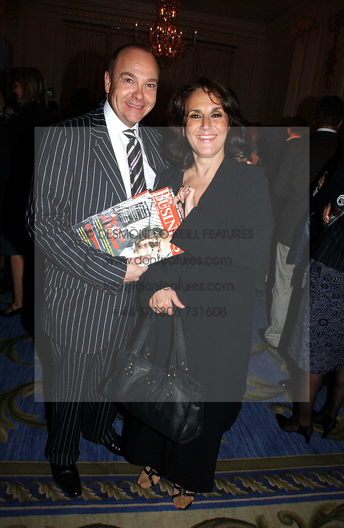 Actress LESLEY JOSEPH and her husband at a party to celebrate the launch of The Business - London's First Global Business Magazine held at the Mandarin Oriental Hyde Park, 66 Knightsbridge, London on 11th October 2006.<br /><br />NON EXCLUSIVE - WORLD RIGHTS