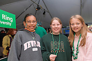 17904Homecoming 2006 10/20/06: Tailgreat.Kendra Green(green shit), Leah Keiter(pink) and Alexis Rhodes(glasses)