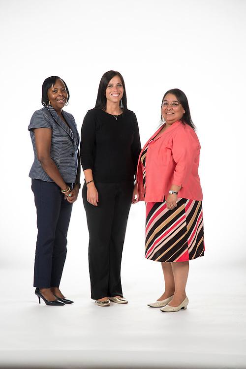 Vanessa McGinnis, Supplier Diversity Specialist (left); Iva Martinov, Supplier Diversity Specialist (center); and Tori Cortez, Analyst