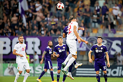 Labinot Ibrahimi of FK Partizani Tirana during 2nd Leg football match between NK Maribor and FK Partizani Tirana in 1st Qualifying Round of UEFA Europa League 2018/18, on July 19, 2018 in Ljudski vrt, Maribor, Slovenia. Photo by Urban Urbanc / Sportida