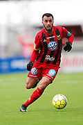 OSTERSUND, SWEDEN - APRIL 21: Brwa Nouri of Ostersunds FK during the Allsvenskan match between Ostersunds FK and Orebro SK at Jamtkraft Arena on April 21, 2018 in Ostersund, Sweden. Photo by Nils Petter Nilsson/Ombrello ***BETALBILD***