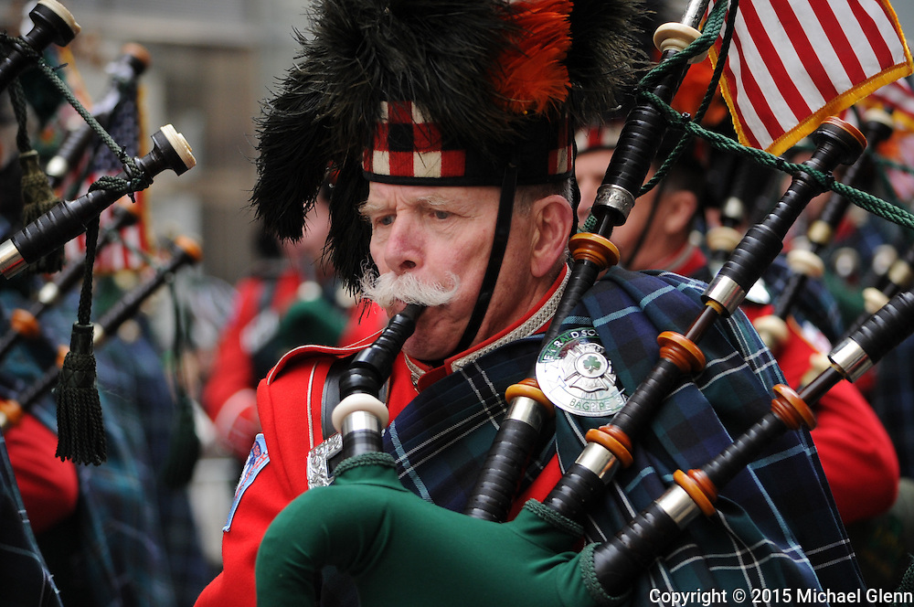 20150317 Saint Patrick's day parade, New York, USA// Saint Patrick's day parade in NYC Glenn Images