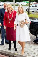 Queen Maxima of The Netherlands attends the annual meeting of platform Wijzer in Geldzaken (Money Wiser) together with Minister of Finance Wopke Hoekstra in The Hague, The Netherlands, 28 May 2019. robin utrecht