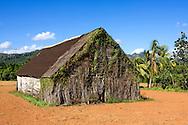 Old barn in Puente de Cabeza, Pinar del Rio, Cuba.