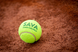 Ball at Recreational-veteran national championship of Slovenia at ATP Challenger Zavarovalnica Sava Slovenia Open 2018, on August 4, 2018 in Sports centre, Portoroz/Portorose, Slovenia. Photo by Urban Urbanc / Sportida