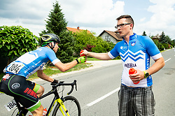 Jernej Svab of Team Slovenia during 1st Stage of 26th Tour of Slovenia 2019 cycling race between Ljubljana and Rogaska Slatina (171 km), on June 19, 2019 in  Slovenia. Photo by Vid Ponikvar / Sportida